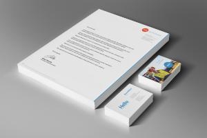 corporate branding stationary pack