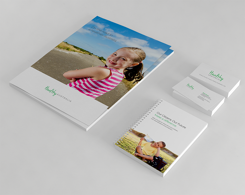 corporate stationary and branding design