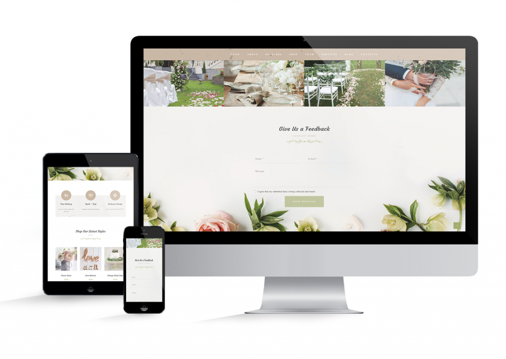 Responsive mobile first web design