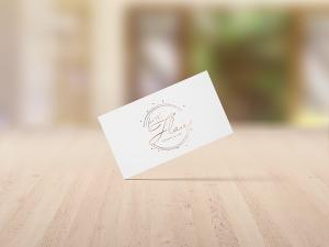 business card design for evvnts hire business