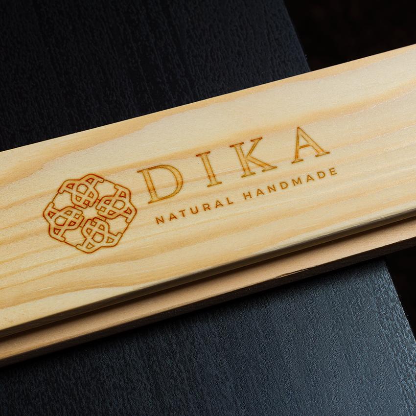 custom logo design on wood