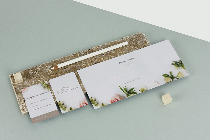small business stationary design